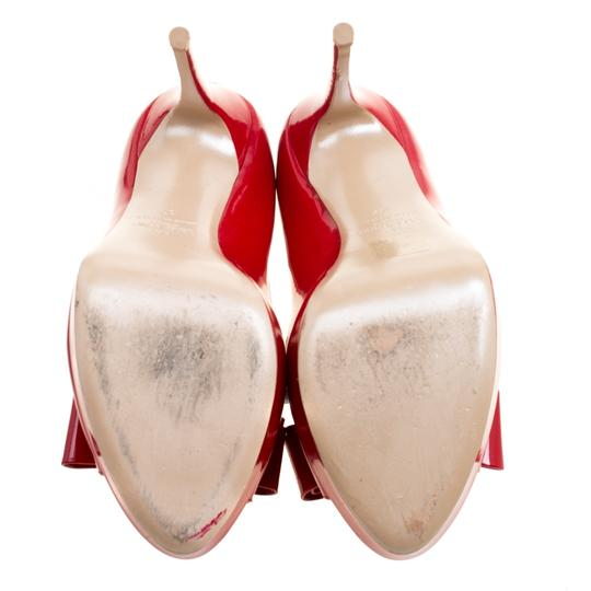 Valentino Patent Leather Red Pumps Image 3