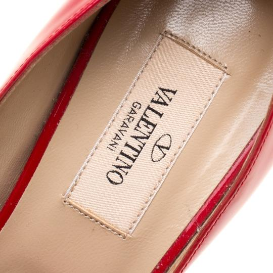 Valentino Patent Leather Red Pumps Image 6