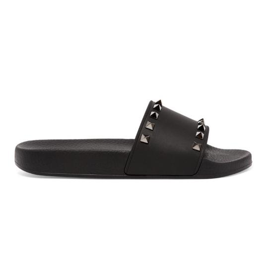 Preload https://img-static.tradesy.com/item/25101093/valentino-rockstud-rubber-slides-sandals-size-us-11-regular-m-b-0-0-540-540.jpg