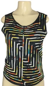 Wind In The Willows Top black yellow red multi