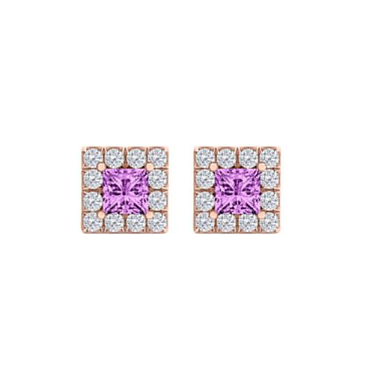 Preload https://img-static.tradesy.com/item/25101117/purple-february-birthstone-amethyst-and-cz-square-halo-studs-earrings-0-0-540-540.jpg