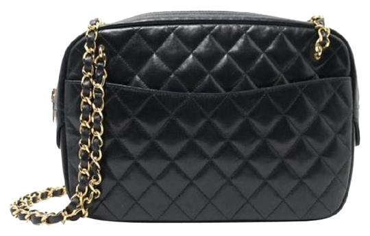Preload https://img-static.tradesy.com/item/25101209/chanel-camera-vintage-quilted-shoulder-shopping-blk-black-lambskin-tote-0-1-540-540.jpg