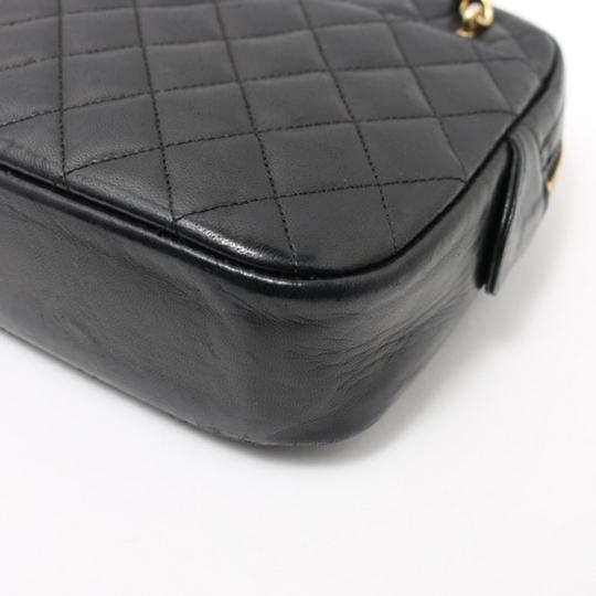 Chanel Vintage Lambskin Tote in Black Image 3