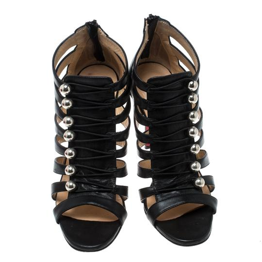 Christian Louboutin Leather Black Sandals Image 1