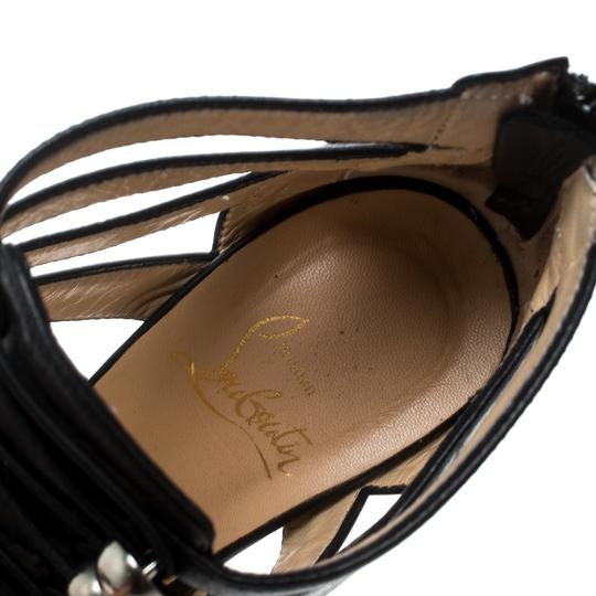 Christian Louboutin Leather Black Sandals Image 4