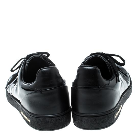 Louis Vuitton Patent Leather Leather Black Flats Image 2