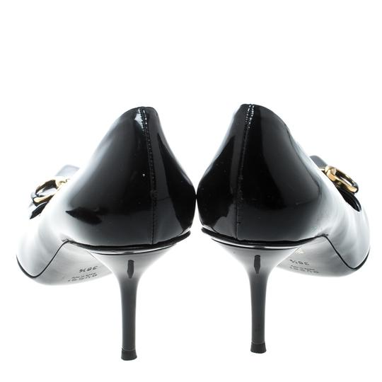 Gucci Patent Leather Leather Black Pumps Image 2