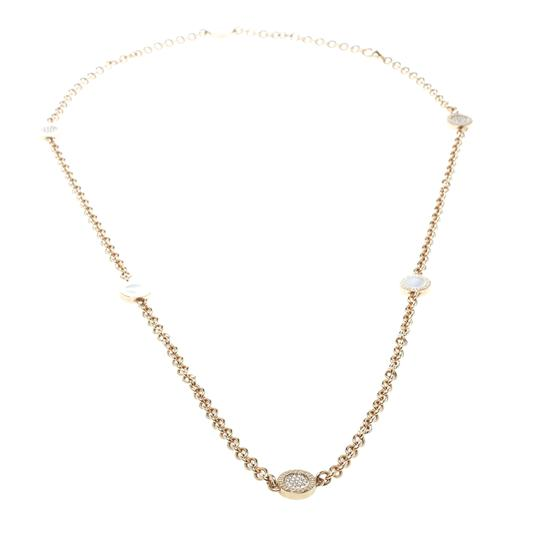 Preload https://img-static.tradesy.com/item/25101355/bvlgari-mother-of-pearl-and-pave-diamond-18k-rose-gold-long-sautoir-necklace-0-0-540-540.jpg