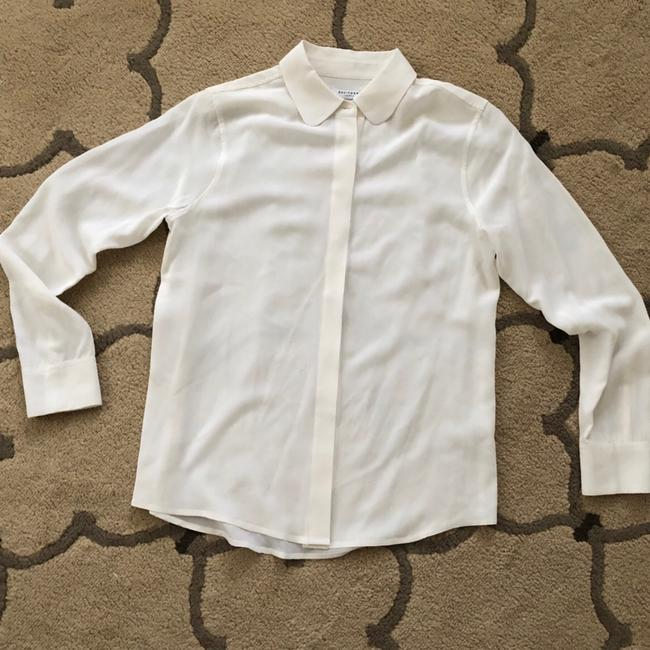 Equipment Button Down Shirt off white Image 1