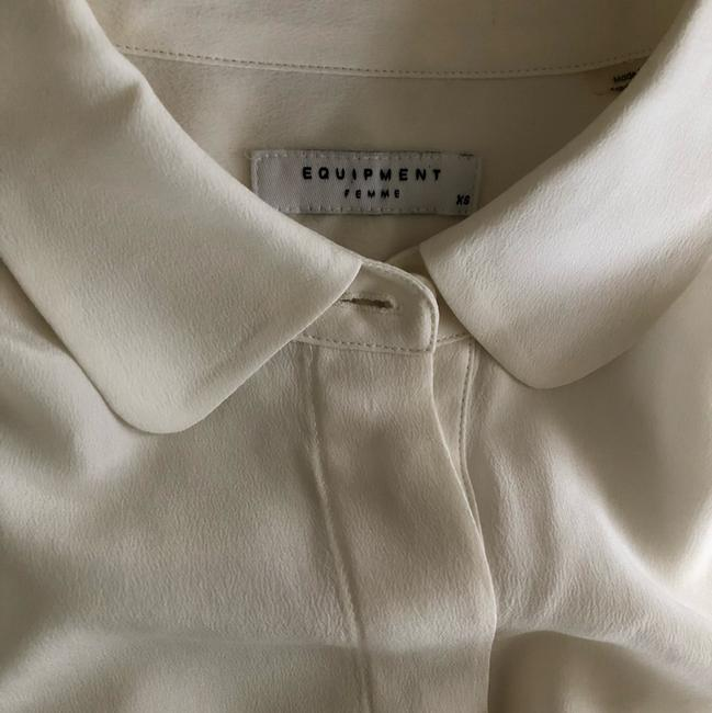 Equipment Button Down Shirt off white Image 3