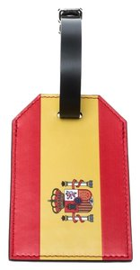 Louis Vuitton Red Epi Leather 2018 Fifa World Cup Spain Flag Luggage Tag
