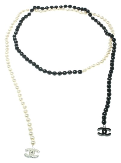 Preload https://img-static.tradesy.com/item/25101483/chanel-multicolor-faux-pearl-and-black-beads-string-wrap-around-necklace-0-1-540-540.jpg