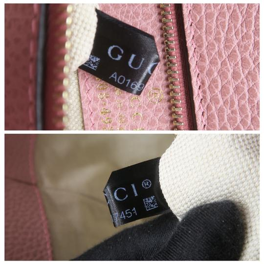 Gucci Calfskin Swing Small Tote in Taupe Image 10