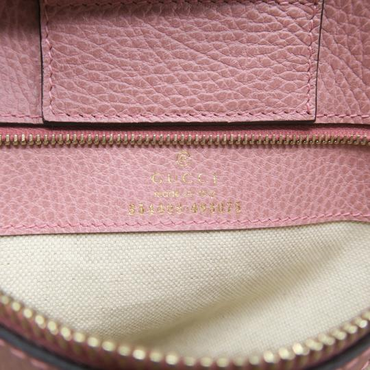 Gucci Calfskin Swing Small Tote in Taupe Image 9
