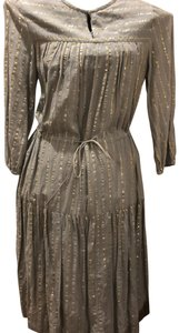 grey and silver Maxi Dress by Isabel Marant