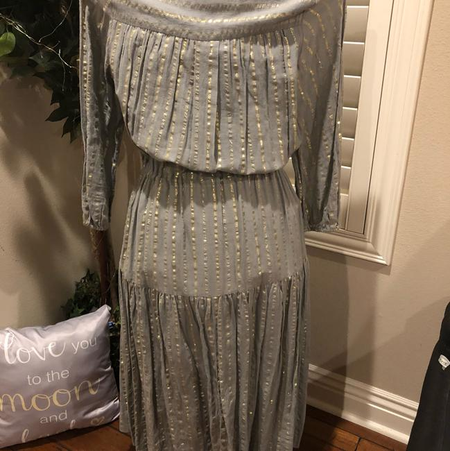 grey and silver Maxi Dress by Isabel Marant Image 2