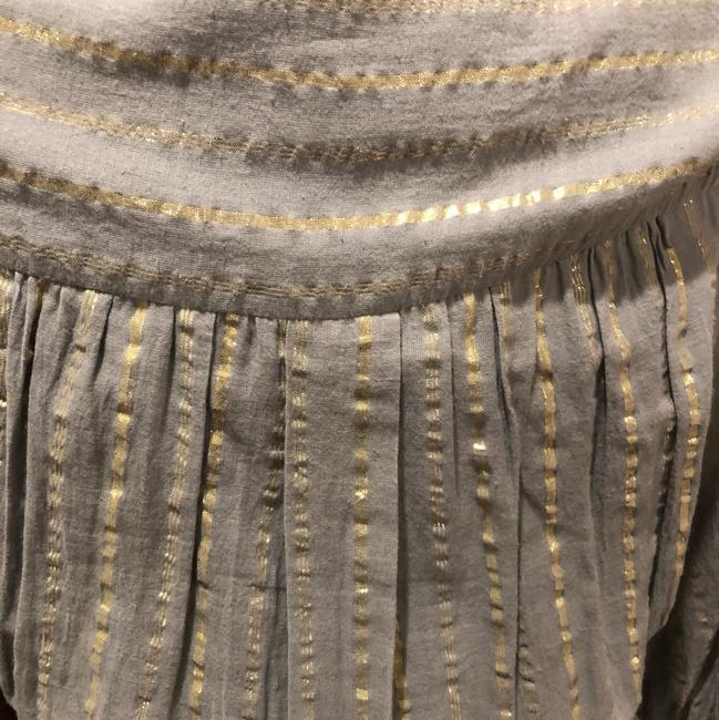 grey and silver Maxi Dress by Isabel Marant Image 3