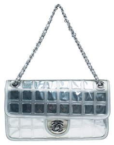f0d0c45b1479 Silver Chanel Shoulder Bags - Up to 90% off at Tradesy