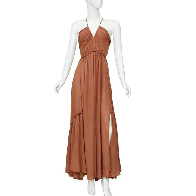 Brown Maxi Dress by Free People Image 4
