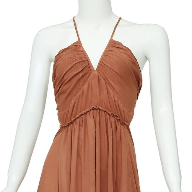 Brown Maxi Dress by Free People Image 5