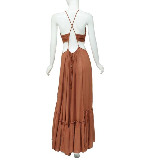 Brown Maxi Dress by Free People Image 7