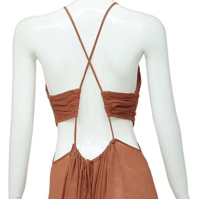 Brown Maxi Dress by Free People Image 8