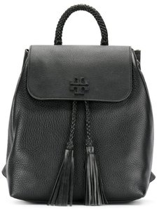 931c8f07936 Tory Burch New Tassel Tote Black Leather Backpack - Tradesy
