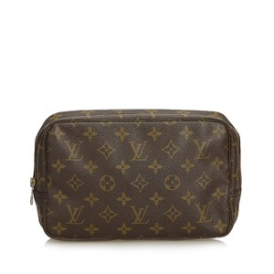 Louis Vuitton 9clvpo008 Vintage Wristlet in Brown