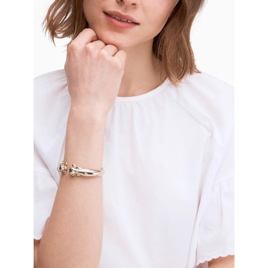 Kate Spade KATE SPADE * Puppy Open Hinged Cuff Bracelet Image 1