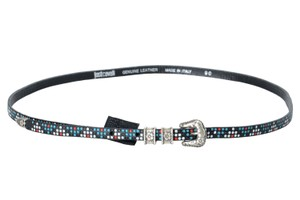 Just Cavalli Just Cavalli 100% Leather Multi-Color Women's Belt US 25 IT 90