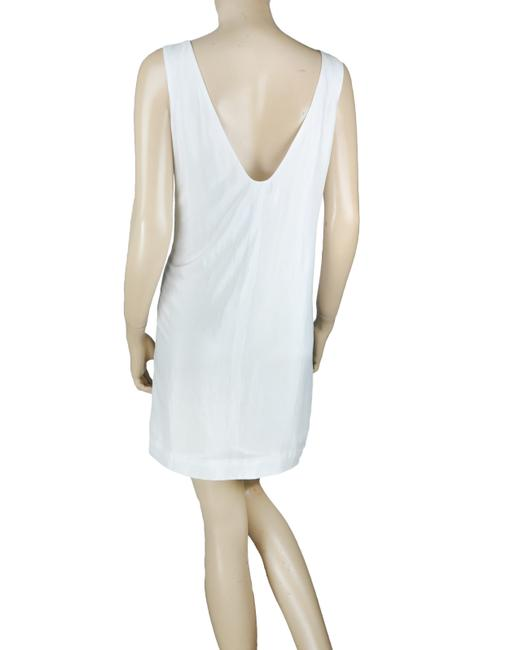 BCBGeneration Pleated Open Back Pearl Dress Image 1