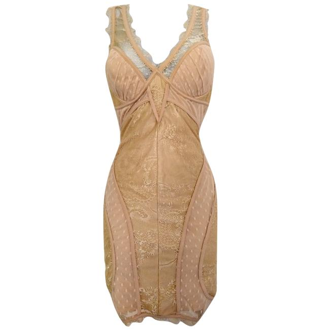 Preload https://img-static.tradesy.com/item/25101809/bebe-beige-bodycon-lace-lacy-strappy-blush-ivory-stretch-fitted-short-night-out-dress-size-4-s-0-0-650-650.jpg
