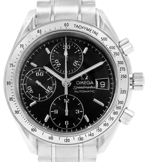 Omega Omega Speedmaster Chrono 39mm Black Dial Steel Watch 3513.50.00 Card Image 0