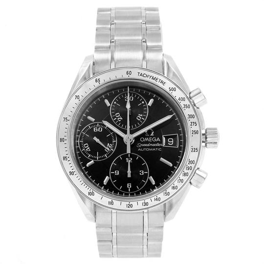 Omega Omega Speedmaster Chrono 39mm Black Dial Steel Watch 3513.50.00 Card Image 1