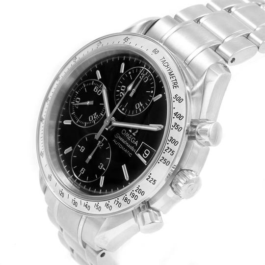 Omega Omega Speedmaster Chrono 39mm Black Dial Steel Watch 3513.50.00 Card Image 4