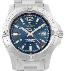 Breitling Breitling Colt Blue Baton Dial Automatic Steel Mens Watch A17388