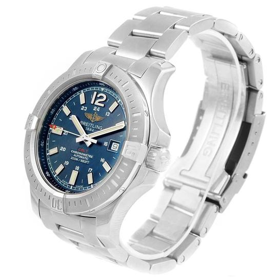 Breitling Breitling Colt Blue Baton Dial Automatic Steel Mens Watch A17388 Image 3
