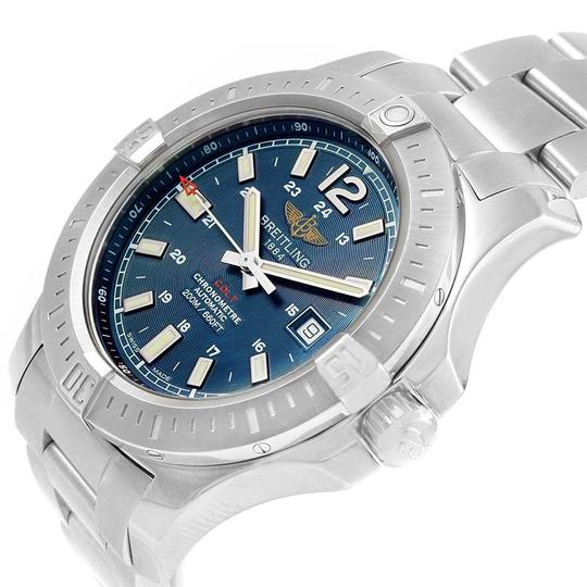 Breitling Breitling Colt Blue Baton Dial Automatic Steel Mens Watch A17388 Image 4