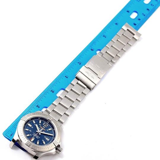 Breitling Breitling Colt Blue Baton Dial Automatic Steel Mens Watch A17388 Image 9
