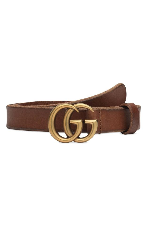 4e9f96636 Gucci Brand New - Gucci GG Skinny Leather Belt - Size 65 Image 0 ...