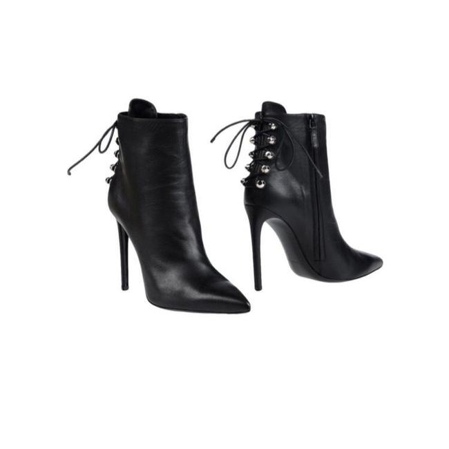 Item - Black Silver New Nappa Mi-brillante Boots/Booties Size EU 40 (Approx. US 10) Regular (M, B)