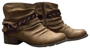 Jellypop Leather Veda Brown Boots