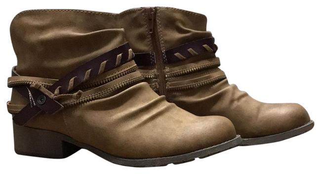 Item - Brown Veda Leather Boots/Booties Size US 6 Regular (M, B)