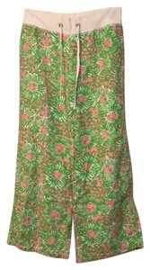 Lilly Pulitzer Relaxed Pants Pink & green