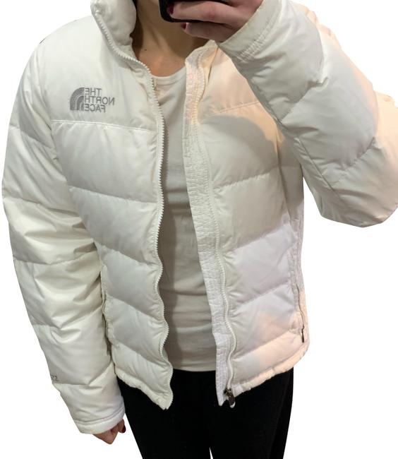Item - White Down Puffer By Coat Size 8 (M)