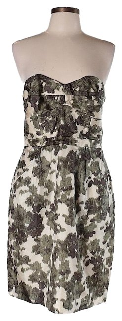 Preload https://img-static.tradesy.com/item/25102797/jcrew-white-and-green-silk-strapless-short-night-out-dress-size-2-xs-0-1-650-650.jpg