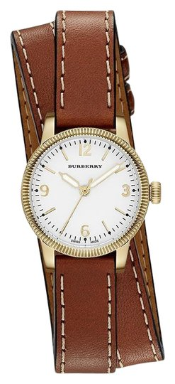 Preload https://img-static.tradesy.com/item/25102828/burberry-brown-the-utilitarian-leather-gold-stainless-steel-wrap-bu7850-watch-0-1-540-540.jpg