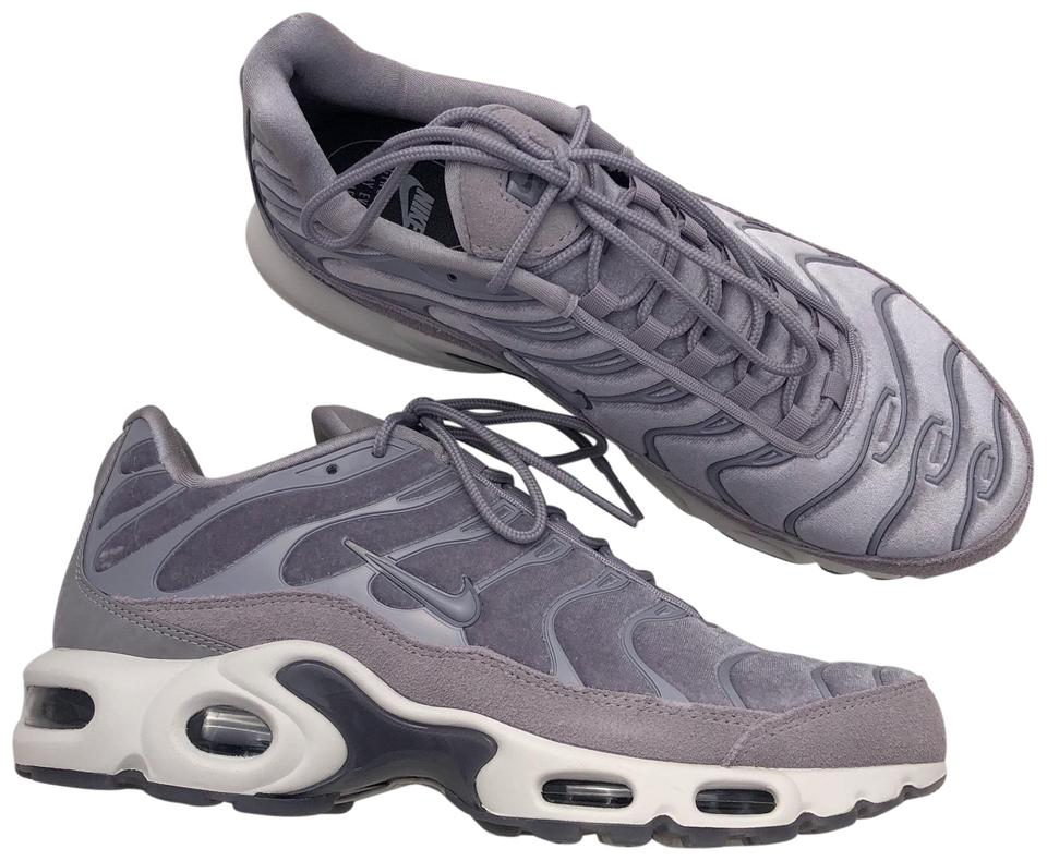 info for shop best sellers differently Nike Grey Women's Air Max Plus Lx Sports A Suede Velvet and Leather  Gunsmoke Upper with Atmosphere Accents Sneakers Size US 9.5 Narrow (Aa, N)  24% off ...
