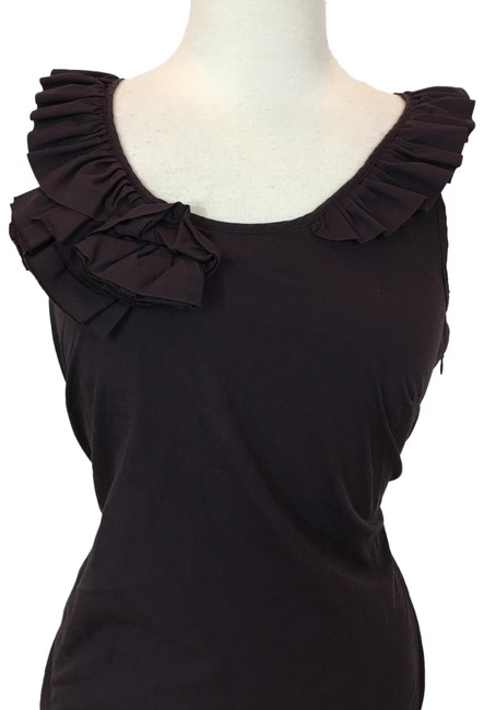 Item - Brown Blouse Size 6 (S)