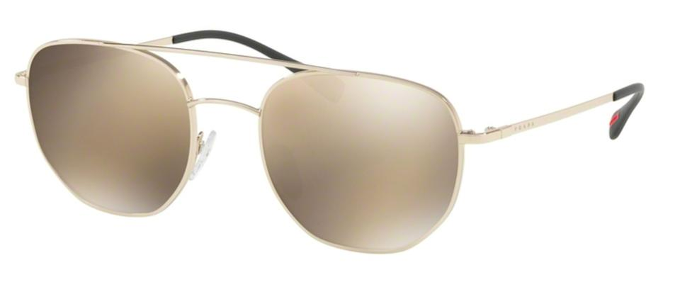 5ed71fc1dceff Prada Gold New Petite Mirrored Lens Sps 56s Zvn1c0 Free 3 Day Shipping  Sunglasses